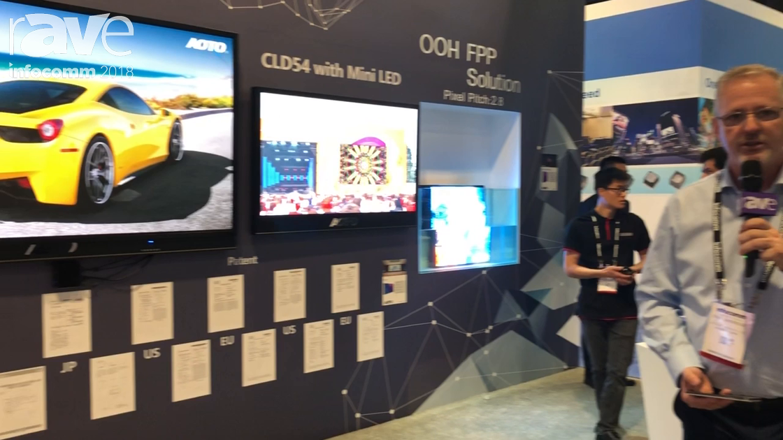 InfoComm 2018: AOTO Electronics Co., Ltd Explains Mini LED Display Technology