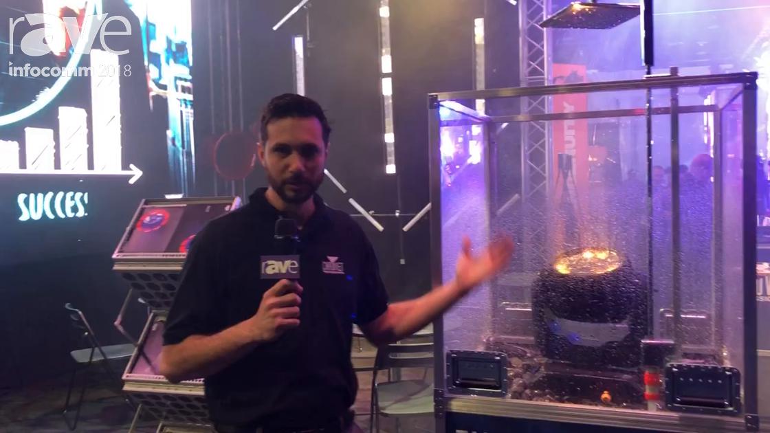 InfoComm 2018: CHAUVET Displays Maverick Storm 1Wash Moving Head Wash Fixture