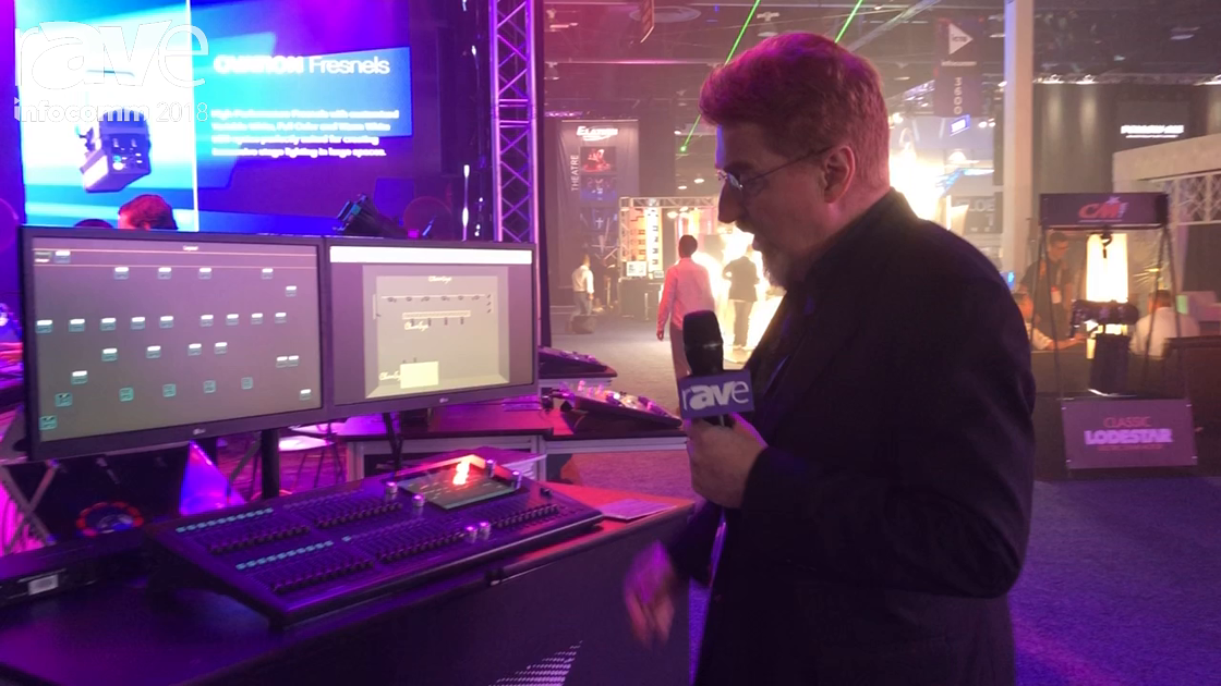 InfoComm 2018: ChamSys Demos QuickQ Series Lighting Control System