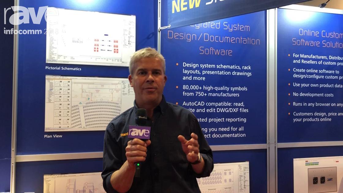 InfoComm 2018: Stardraw Talks About Stardraw Design 7.3 Design and Documentation Software