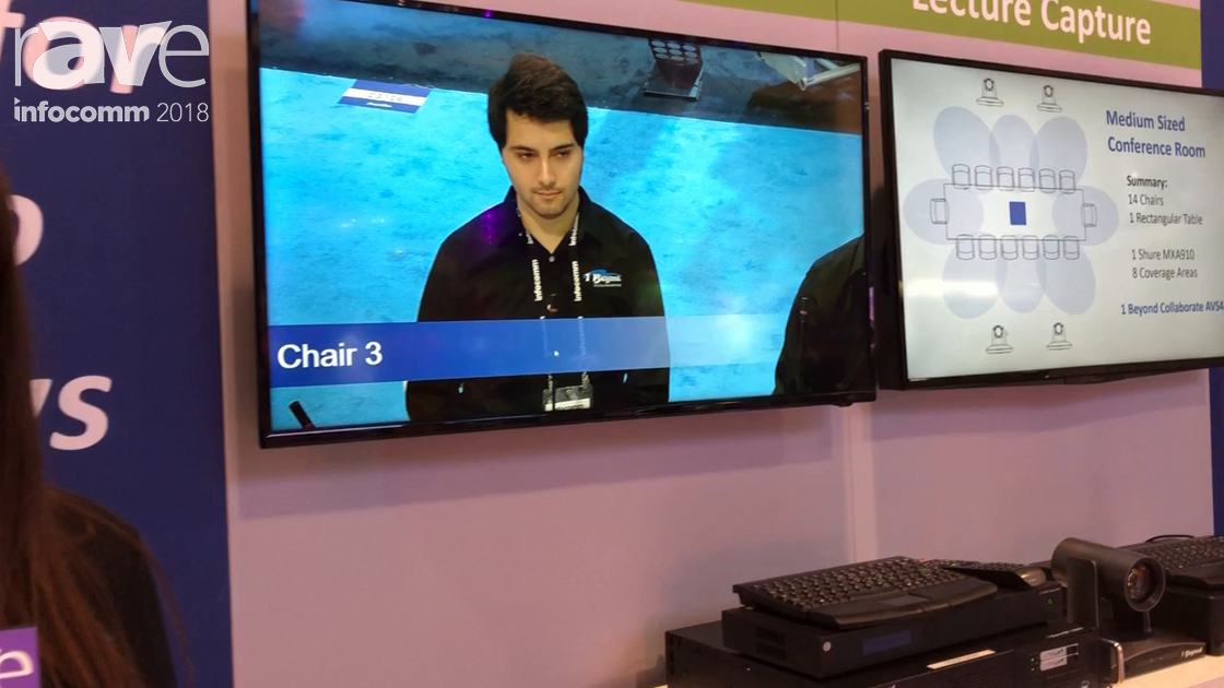 InfoComm 2018: 1 Beyond Demos Collaborate AVS Live Conferencing Solution