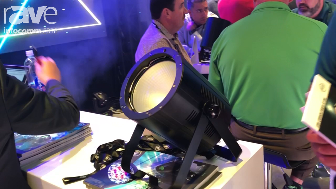 InfoComm 2018: ADJ Presents COB Cannon Wash ST RGBA/DW Light