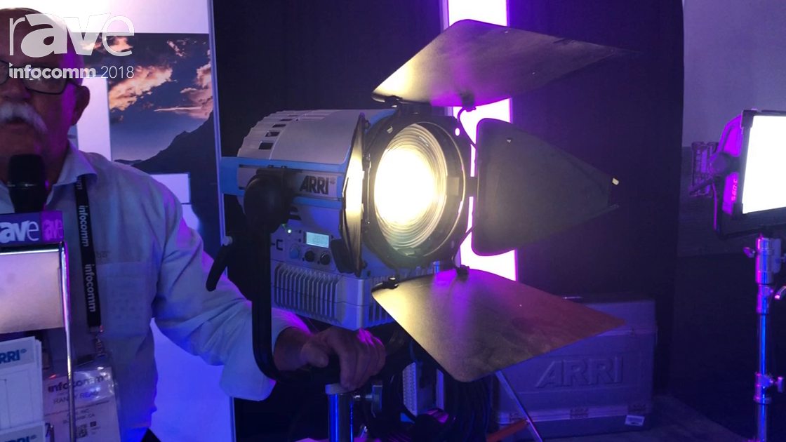 InfoComm 2018: ARRI Presents Fresnel L7-C LED Light