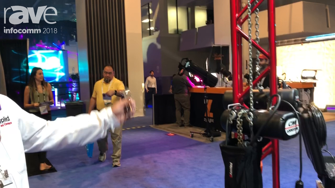 InfoComm 2018: Applied Truss and Electronics Exhibits Chain Hoist Controllers