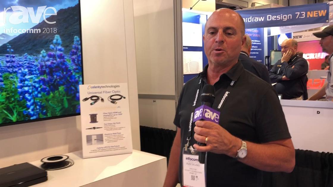 InfoComm 2018: Celerity Technologies Debuts Universal Fiber Optic for HDMI/DisplayPort