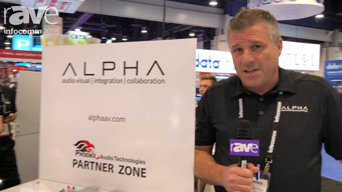 InfoComm 2018: Alpha Solutions Partners with Phoenix Audio Technologies, Providing Custom Solutions