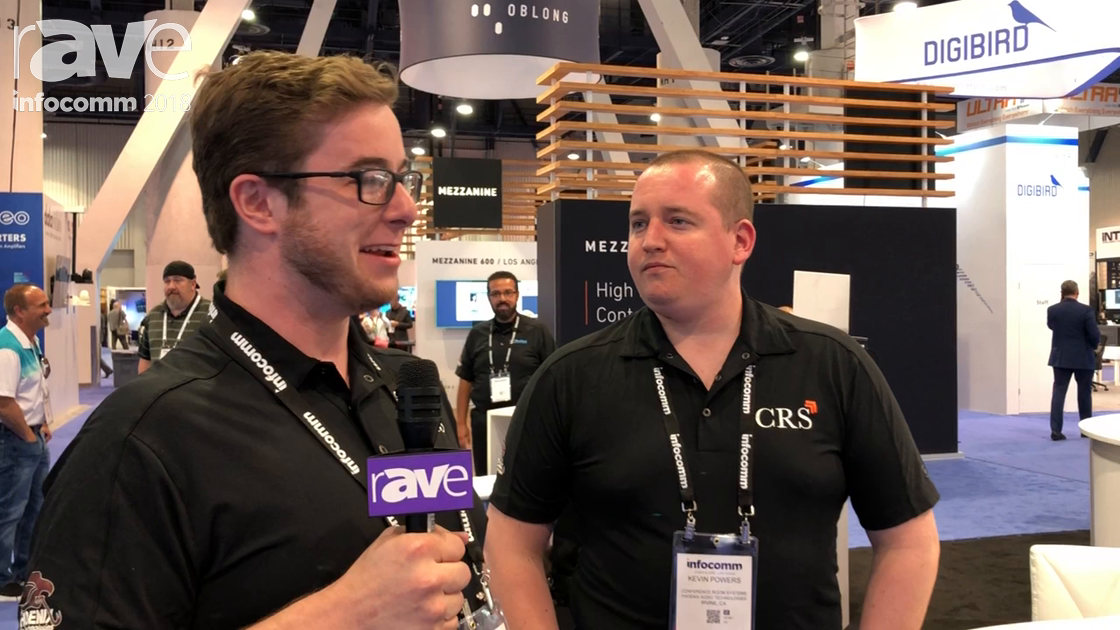 InfoComm 2018: CRS Talks About USB Conferencing Options Paired with Phoenix Audio Technologies