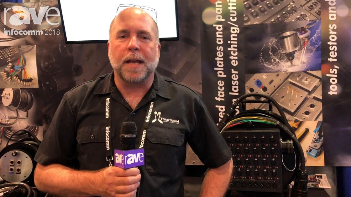InfoComm 2018: Four Star Wire & Cable Inc. Previews Multipin Split Snake On Reel