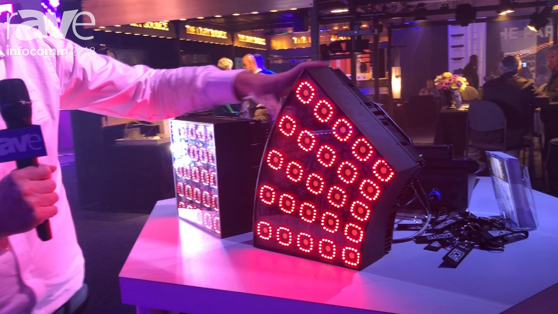 InfoComm 2018: German Light Products Previews KNV Cube/Arc LED Lighting Solution