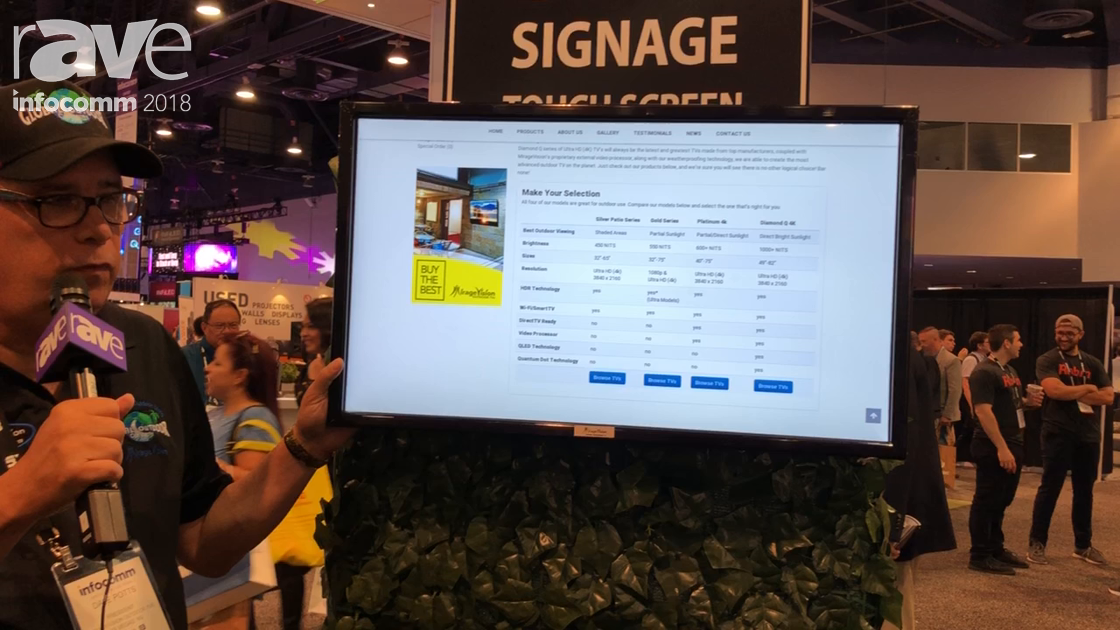 InfoComm 2018: Global Outdoor Concepts Showcases Outdoor Digital Signage Touch Screen Display