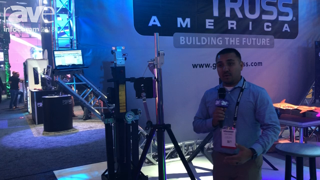 InfoComm 2018: Global Truss America Features ST-132 Mounting System for Speakers