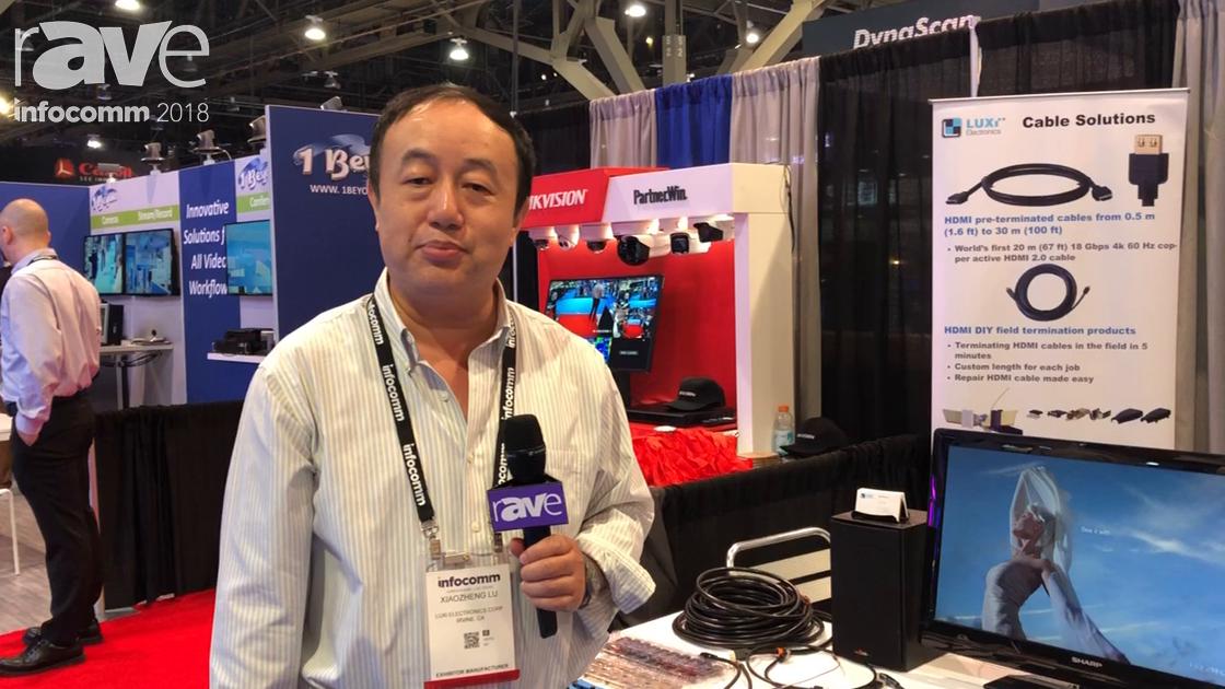 InfoComm 2018: Luxi Electronics Corp. Exhibits Presenter Series AV-Over-IP Solution