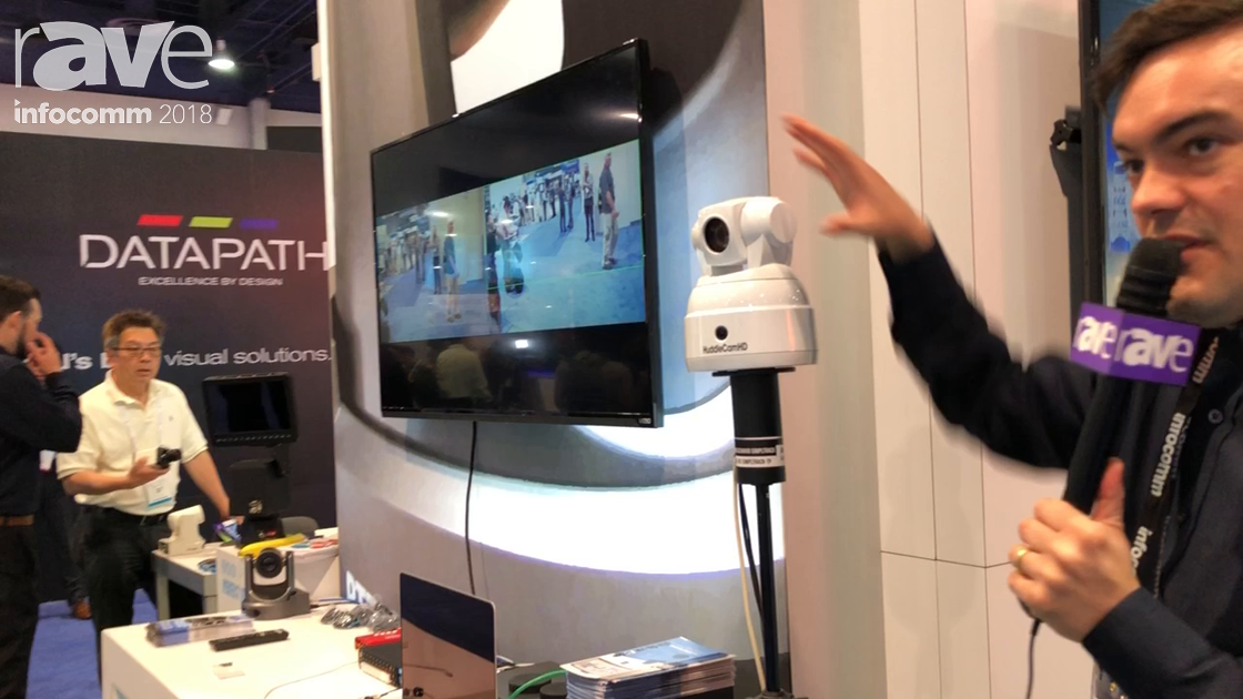 InfoComm 2018: HuddlecamHD Presents SimplTrack Auto-tracking Camera