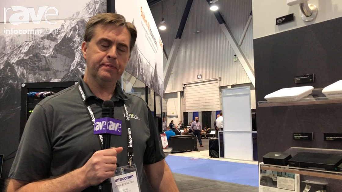 InfoComm 2018: Luxul Highlights Domotz Pro Remote Management Solution Integrated on Luxul Routers