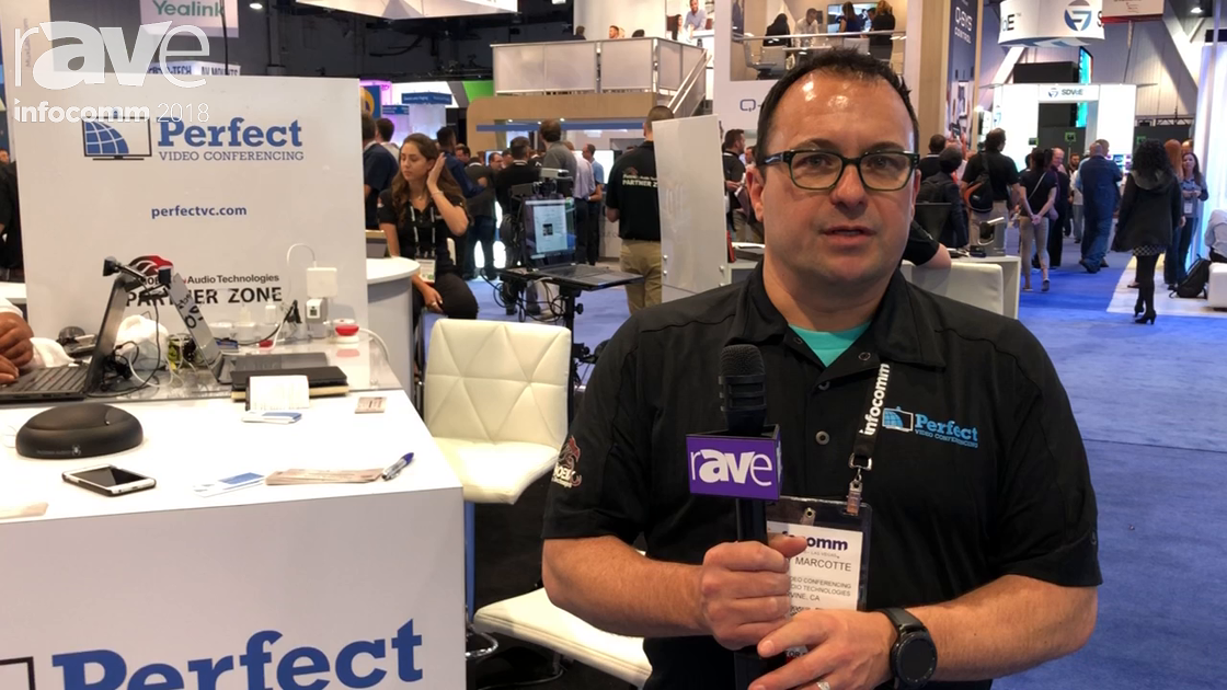 InfoComm 2018: Perfect Video Conferencing Talks About Partnership with Phoenix Audio Technologies
