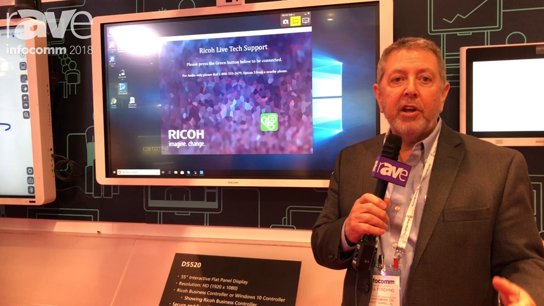 InfoComm 2018: Ricoh Launches Live Tech Support App Aimed Towards End Users