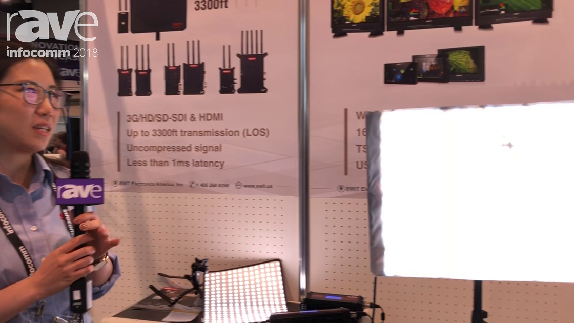 InfoComm 2018: SWIT Electronics USA Introduces Flexible Bi-Color SMD LED Light S-2610/S-2620