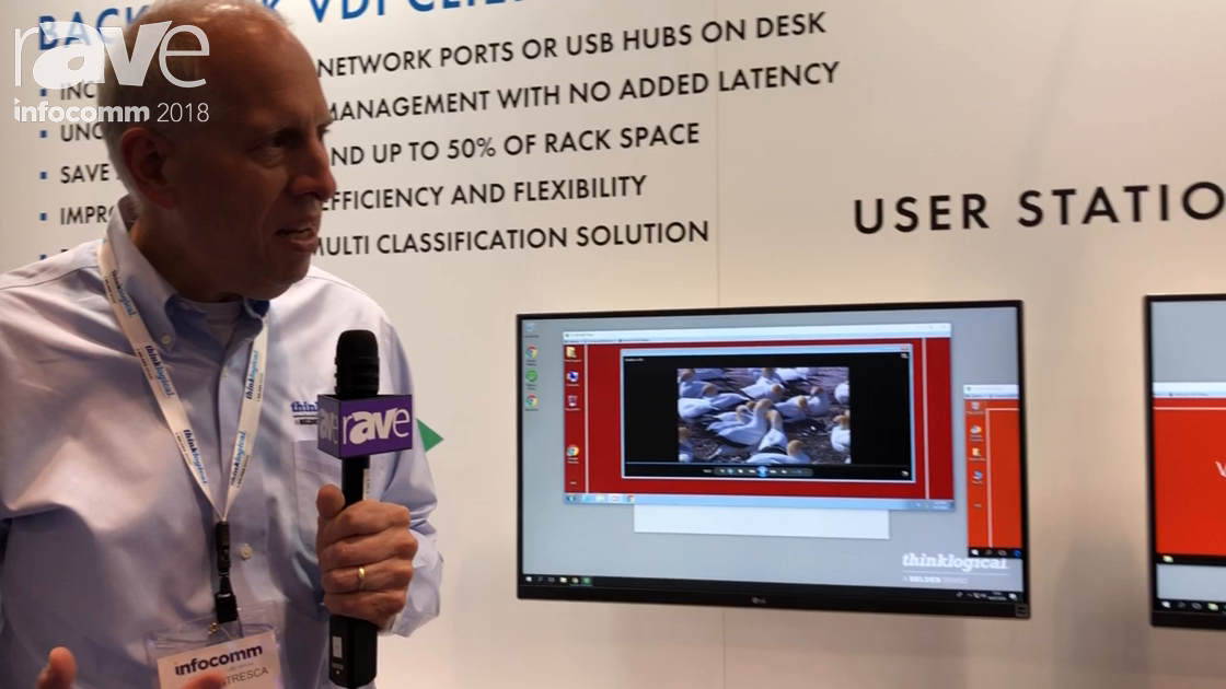 InfoComm 2018: Thinklogical Demos TLX Client Integration Module and KVM Extender