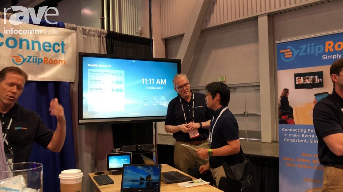 InfoComm 2018: ZiipRoom Presents ZiipRoom MX, a Vendor Agnostic Meeting Room Experience