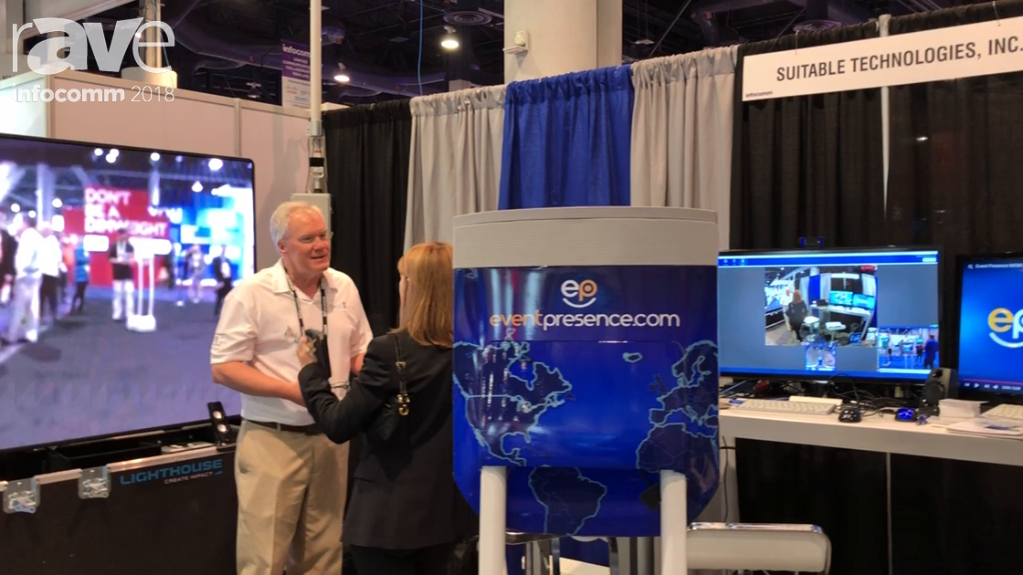 InfoComm 2018: Event Presence Rents Beams for Immersive Videoconferencing Experience