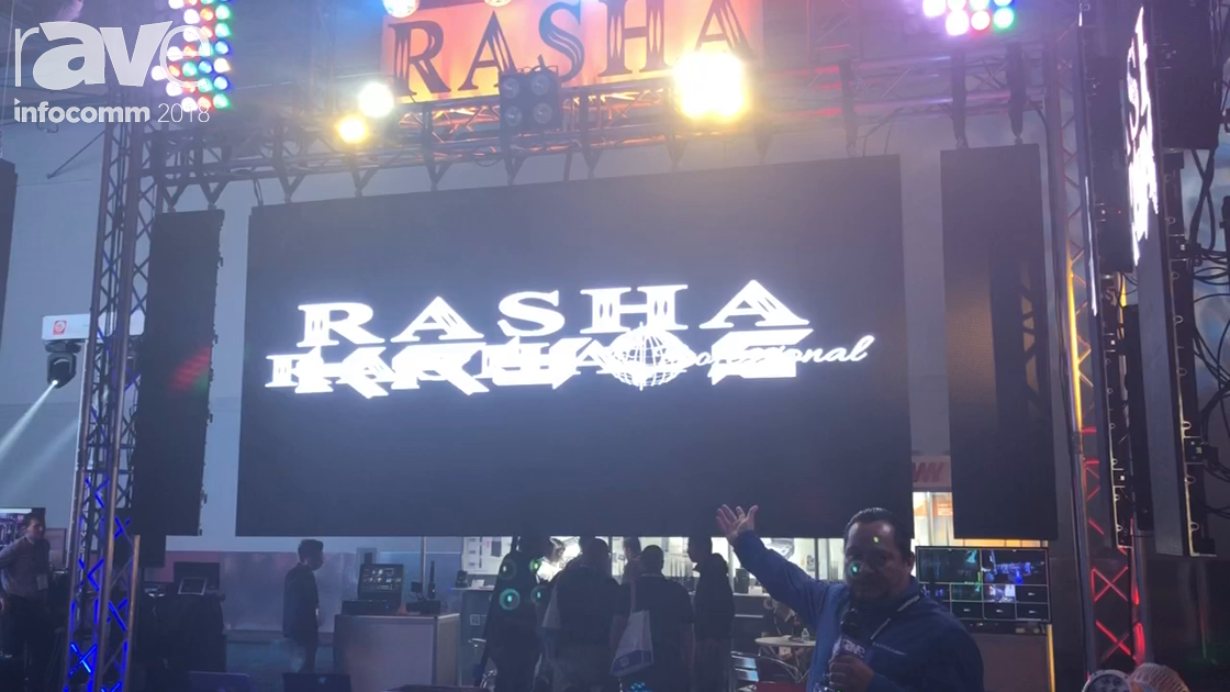 InfoComm 2018: RASHA Presents Outdoor 4mm LED Display