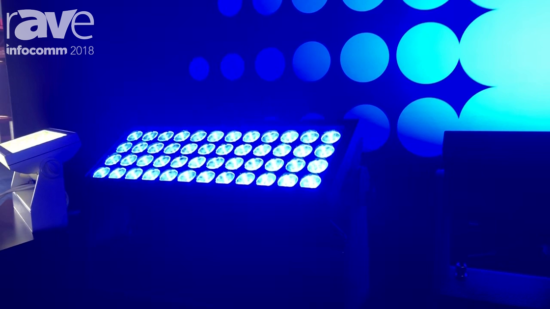 InfoComm 2018: SGM Lighting Presents P-10 LED Wash Lighting Solution