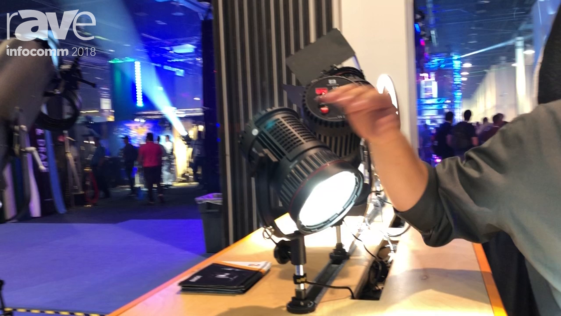 InfoComm 2018: Zylight Features CN Series Fresnel Studio Lights