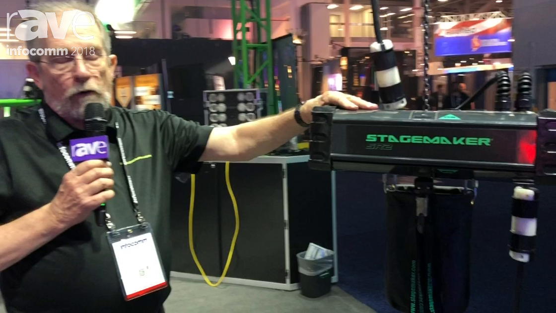InfoComm 2018: Stagemaker Features SR2 Quarter Ton Chain Hoist