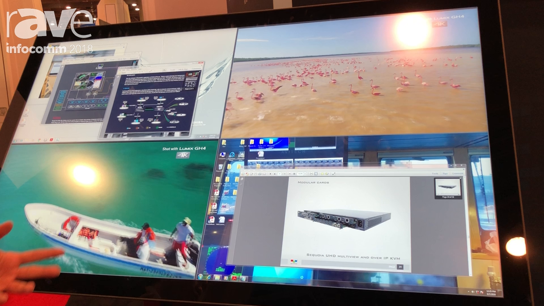 InfoComm 2018: Avitech Discusses Sequoia UHD 4K Multiviewer