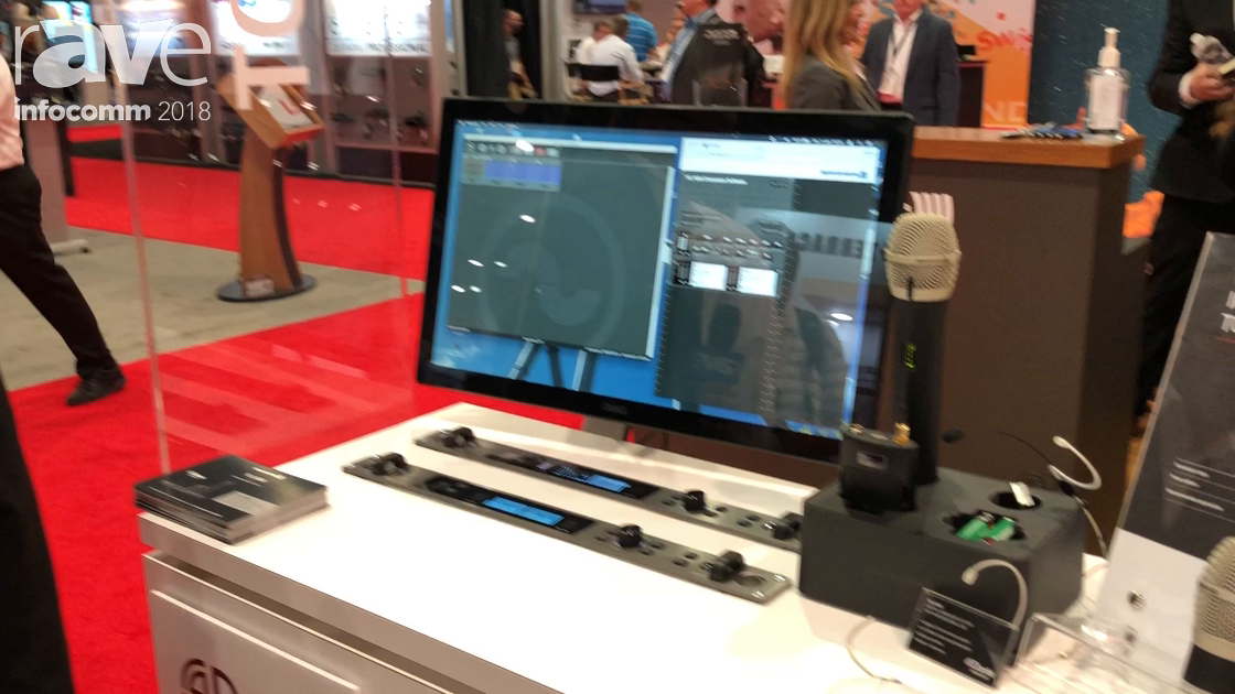 InfoComm 2018: beyerdynamic Debuts TG1000 Digital Wireless UHF System