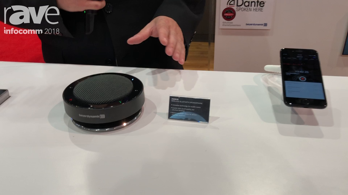 InfoComm 2018: beyerdynamic Talks About PHONUM Bluetooth Speakerphone