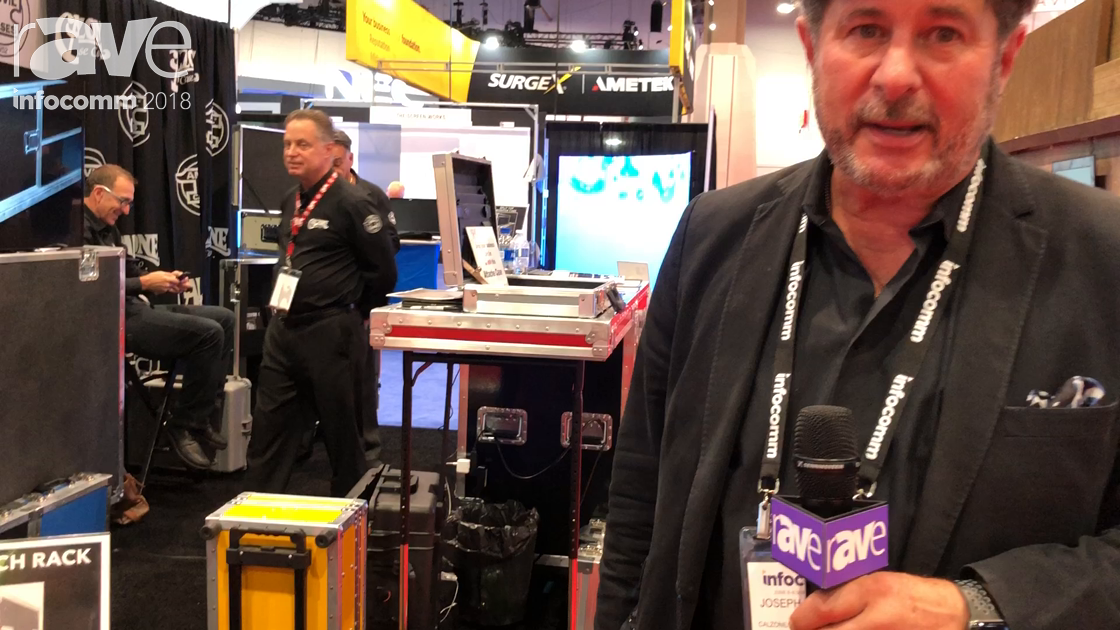 InfoComm 2018: Calzone Case Company Previews SLR Rack Case With Slam-Lid