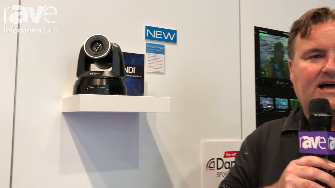 InfoComm 2018: Marshall Electronics Talks About CV620-NDI PTZ Camera with NDI