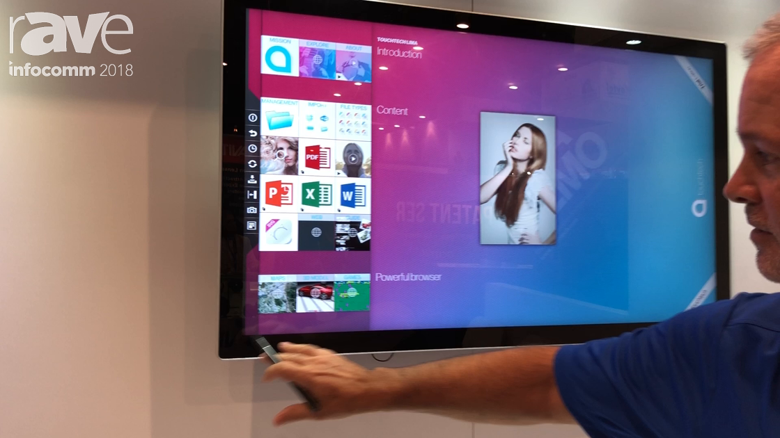 InfoComm 2018: Motrex Discusses KinectIQ Touch Interactive Flat Panel Display