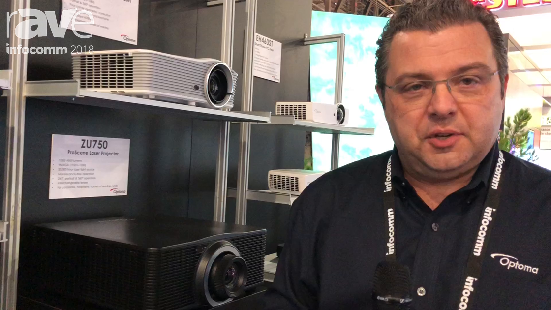 InfoComm 2018: Optoma Features Z500T Family of Projectors