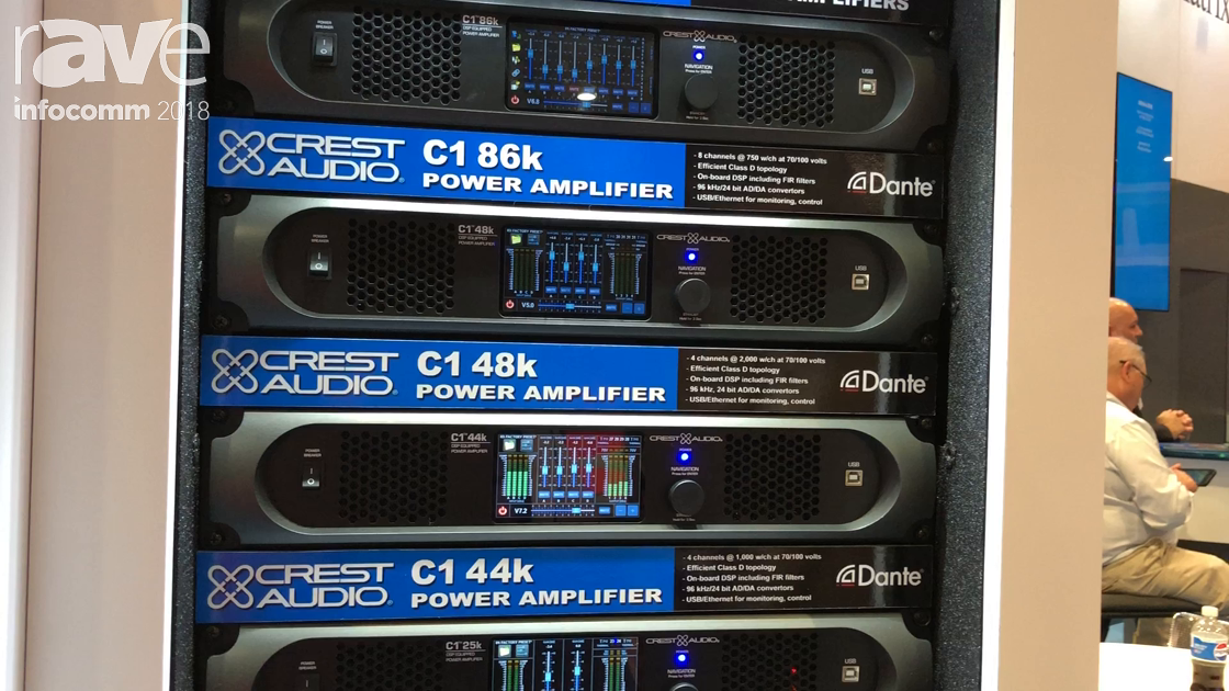 InfoComm 2018: Peavey Presents Crest Audio C1 Series Power Amplifiers