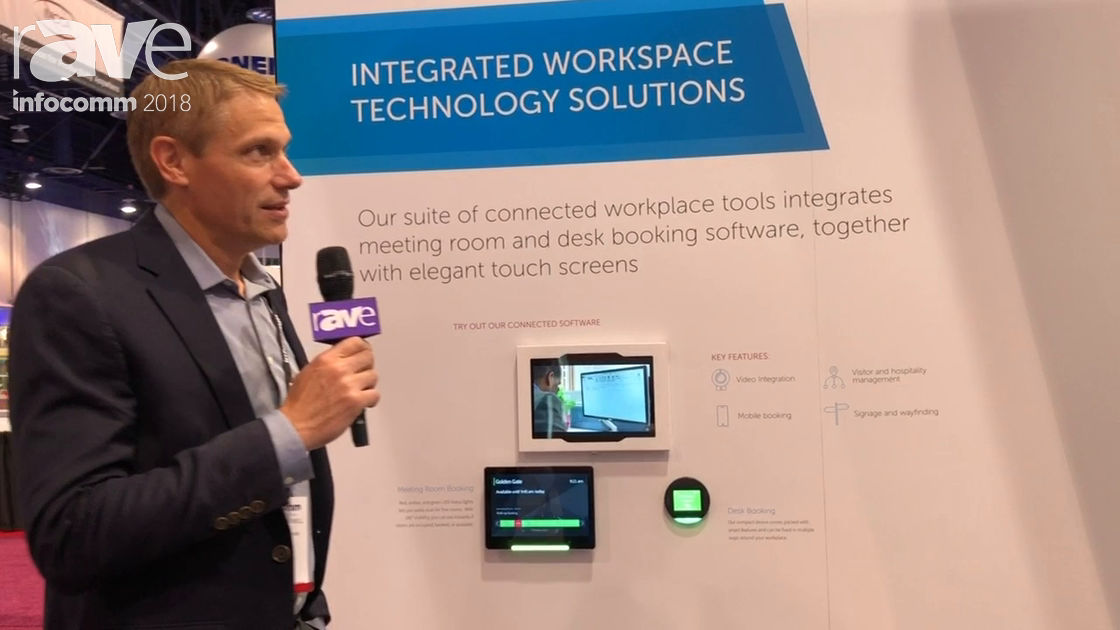 InfoComm 2018: Condeco Talks About Connect and Condeco Enterprise Cloud-Based Scheduling Platform