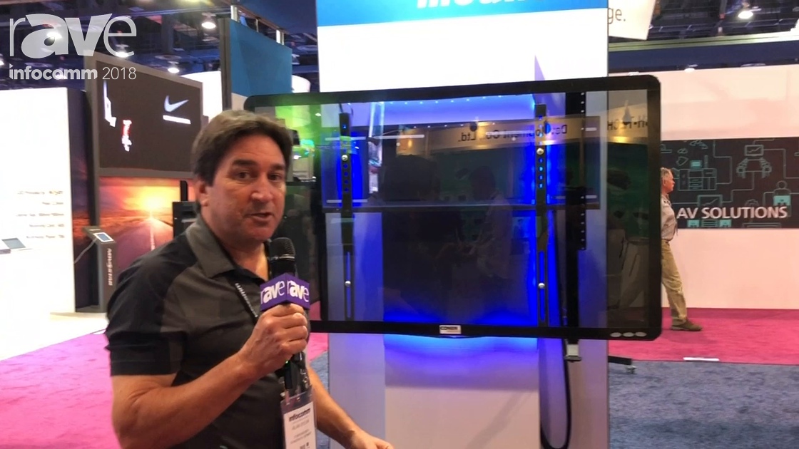 InfoComm 2018: Conen Mounts Launches Recessed Motorized and Customized Corporate Mount