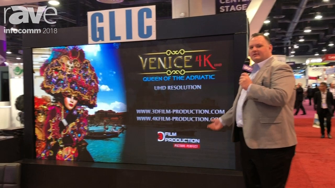 InfoComm 2018: GLIC Highlights GLP1.5mm 1080p Indoor LED Display
