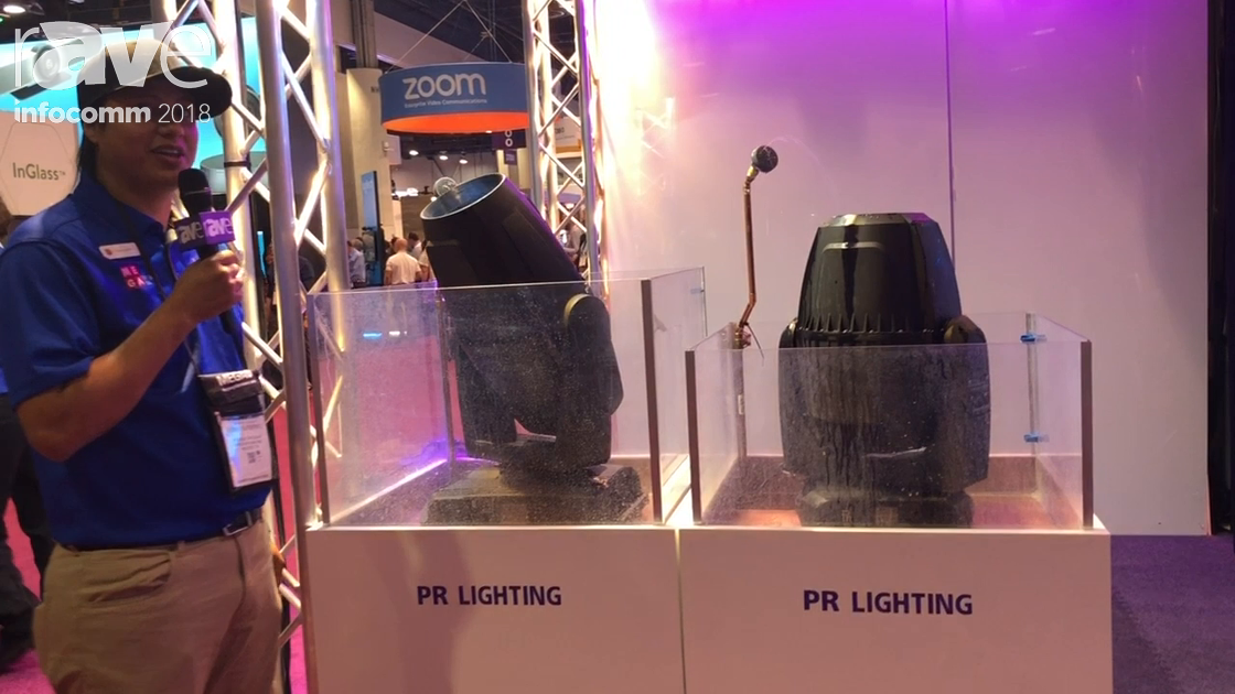 InfoComm 2018: Mega Systems Showcases Aqua LED 600 PR Lighting Fixture for Outdoor Applications
