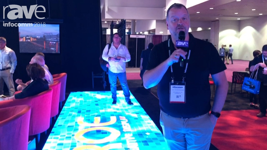 InfoComm 2018: ROE Visual Presents Black Marble LED Floor