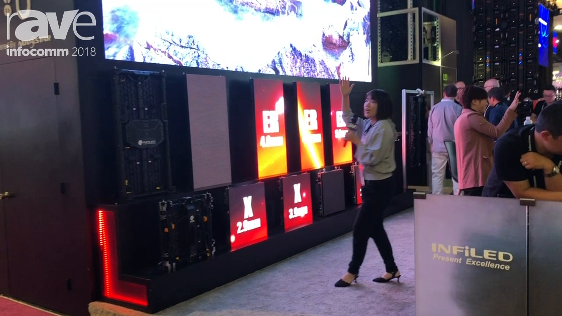 InfoComm 2018: Shenzhen Infiled Electronics Presents X Series Flexible LED Display