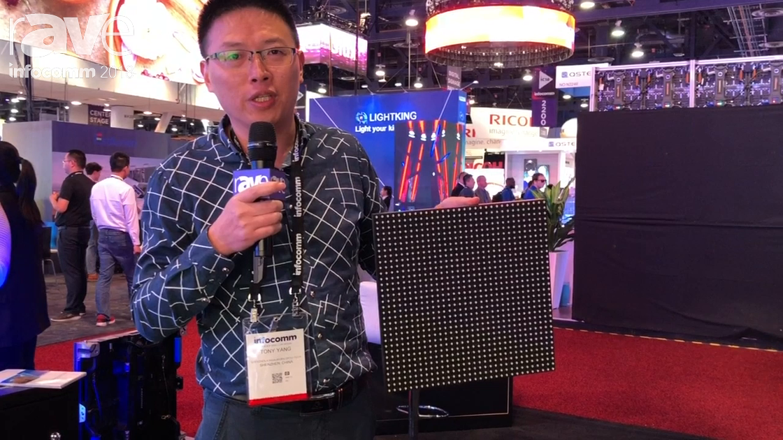 InfoComm 2018: Shenzhen Kingaurora Presents Outdoor LED Display E85