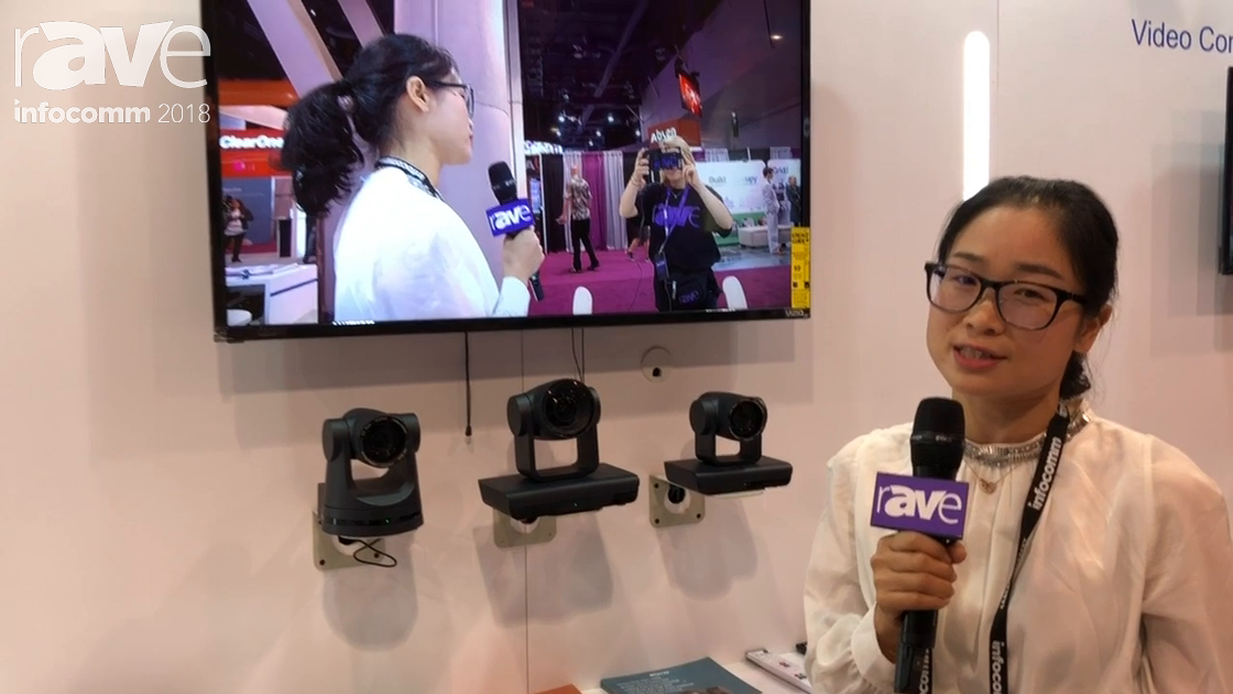 InfoComm 2018: Shenzhen Minrray Introduces Full 4K PTZ Camera Lineup
