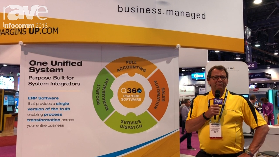 InfoComm 2018: Solutions 360 Talks About ERP Management Solution Build for Integrators