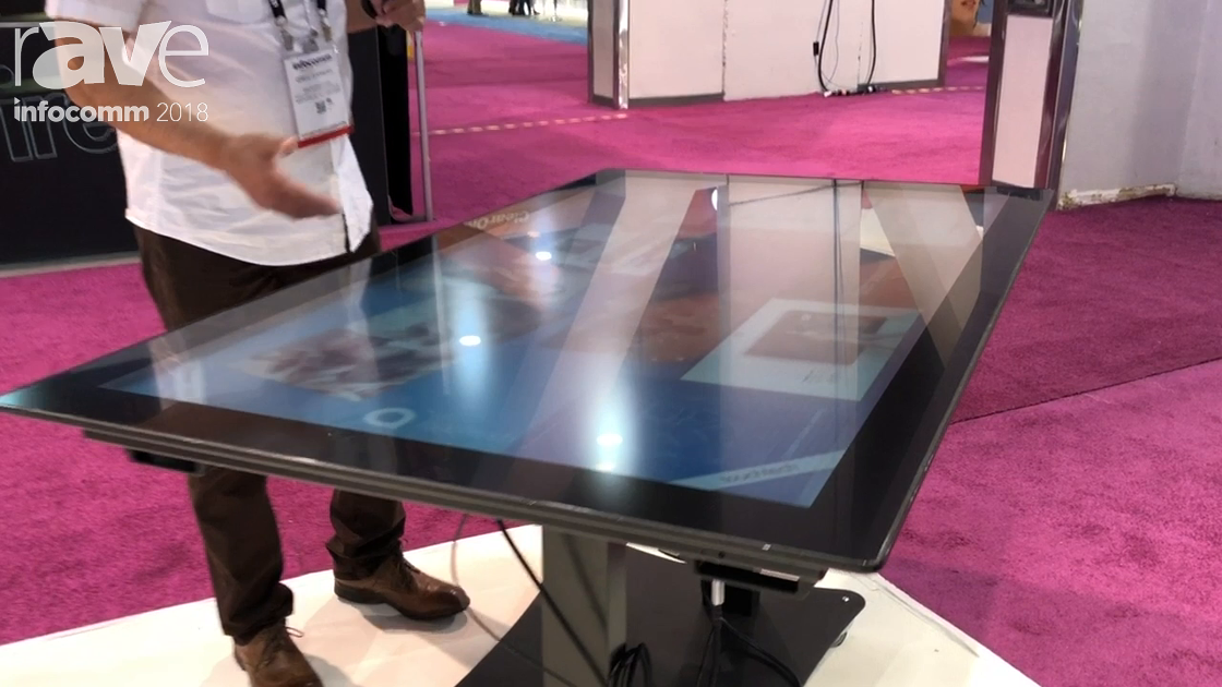 InfoComm 2018: Virtual Graffiti Highlights Dimension Core Interactive Multi-Touch Table