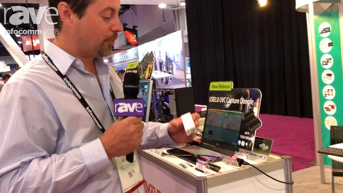 InfoComm 2018: Yuan High Tech Talks Features PD570 Pro 4K, a 4K HDMI to USB-C Converter