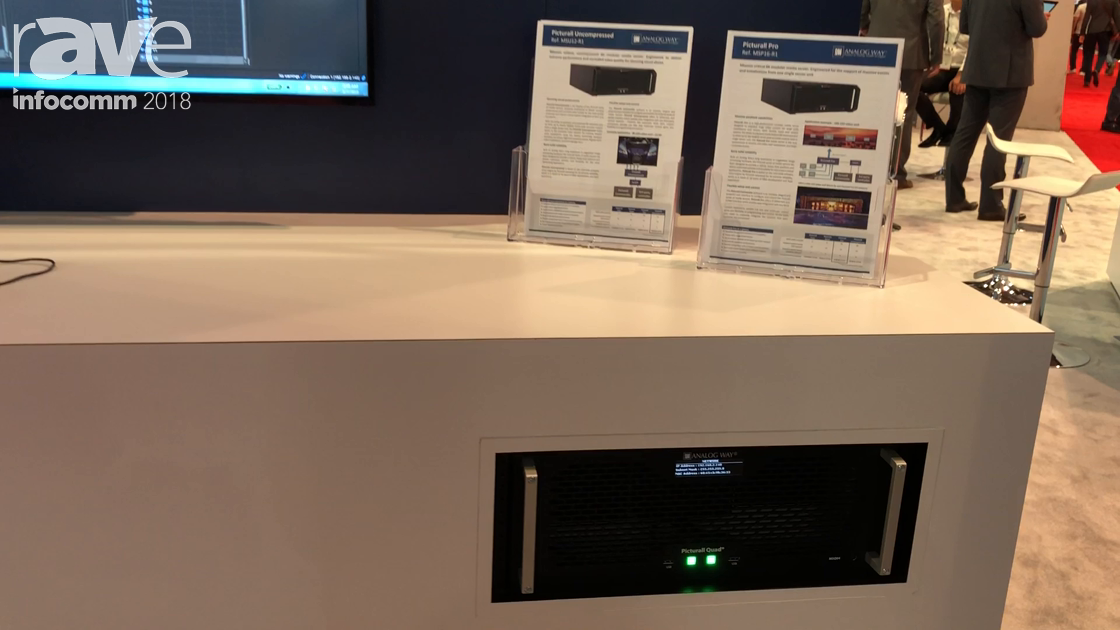 InfoComm 2018: Analog Way Walks Through Its Media Server Lineup