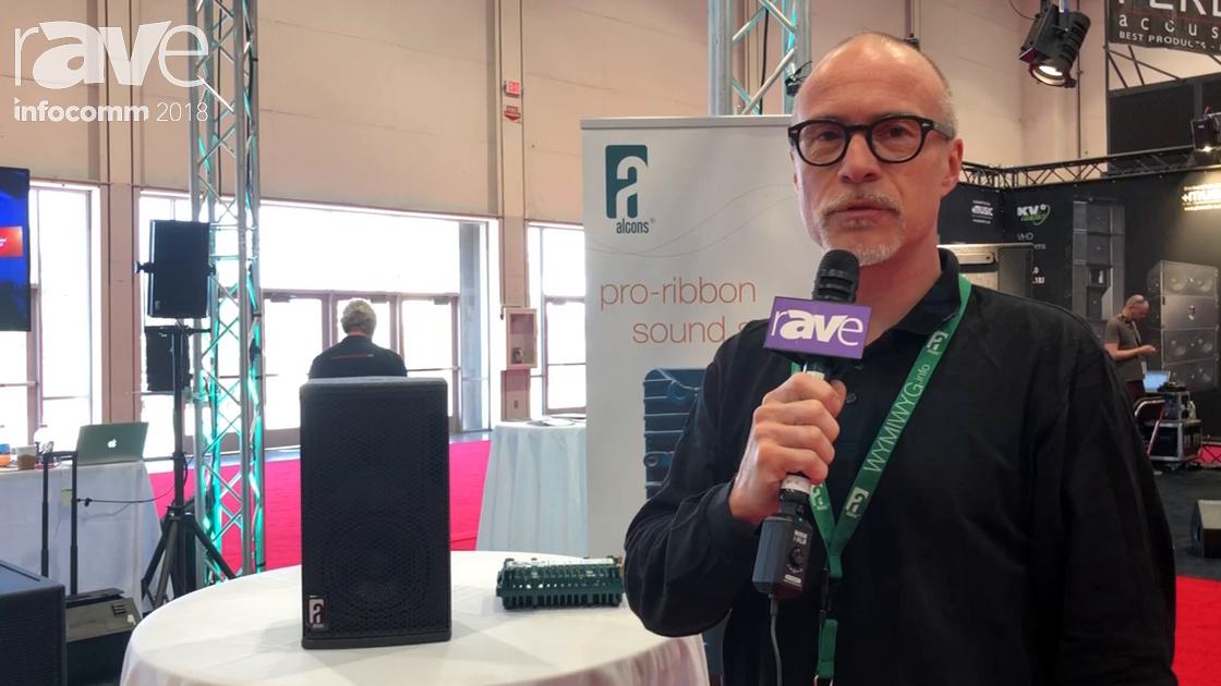 InfoComm 2018: alcons Audio Unveils the VR-5 Cabinet Speaker