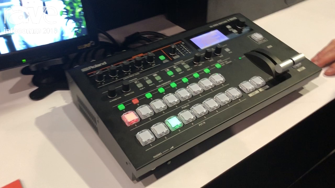 InfoComm 2018: Roland Reveals the V60HD Switcher